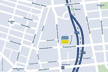 Lageplan Standort Berlin