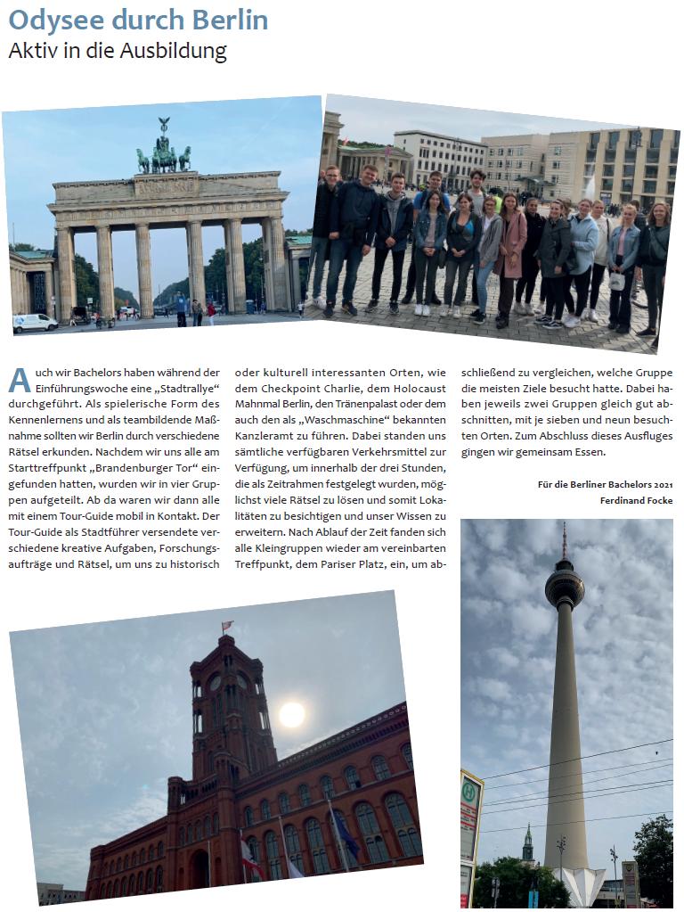 Odysee durch Berlin